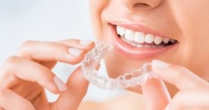 Zähneknirschen Aufbissschiene